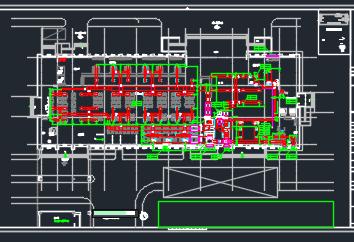 八层服务中心暖通施工图