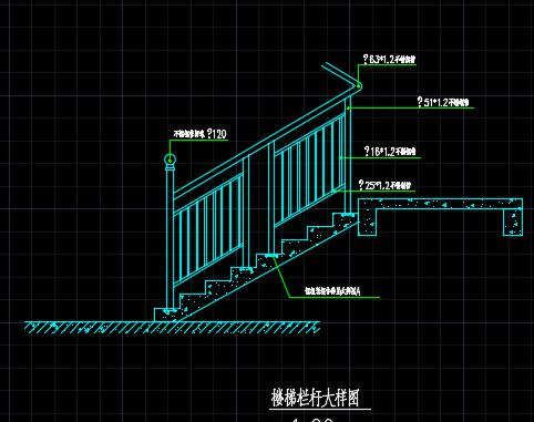 不锈钢栏杆设计图