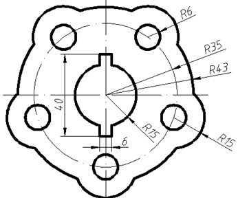 CAD电脑平面下载图免费下载-CAD练习题练习图形怎么cad图片