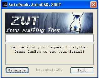 CAD2007注��C