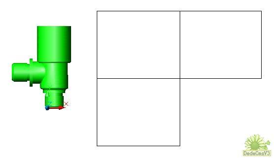 AutoCAD由立体图生成三视图的方法-CAD安cad打断快捷键于点如何图片