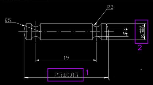 CAD珠宝标注图纸365的多彩公差图片