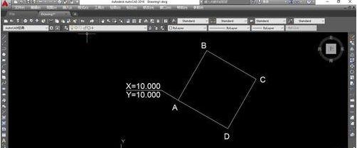 CAD块标注自动安装坐标?-CAD破解教程cad图看mac设置版图片
