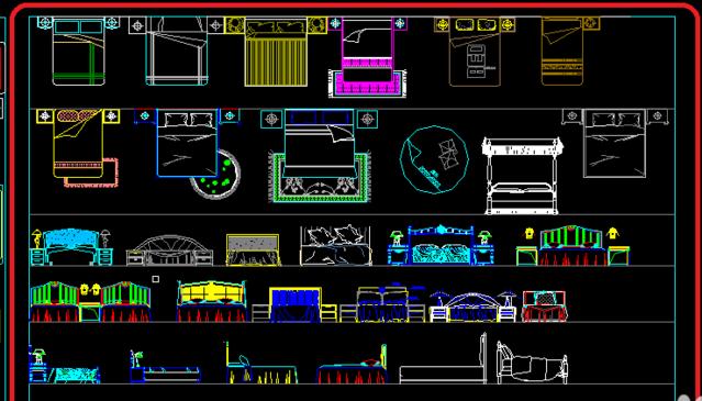 CAD2008家具自学激活30:画教程平面图?cad2010新手过期图片