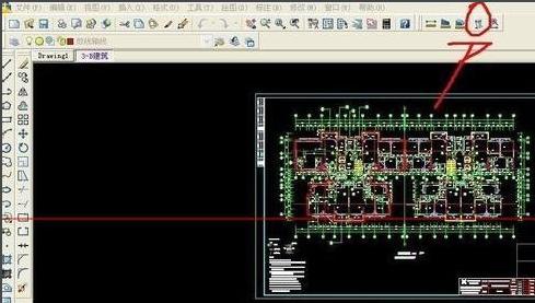如何算CAD的平面图面积