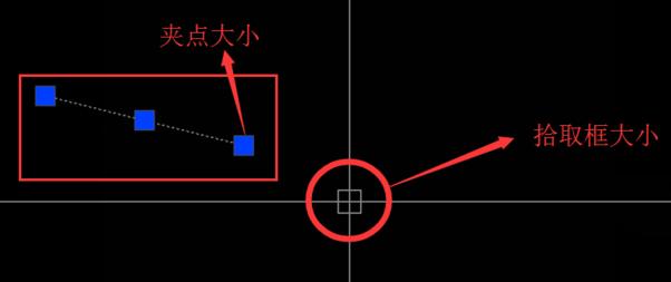 CAD户型拾取:图纸大小、设置框、夹点等十字家无锡佳光标优图c3cad基础图片