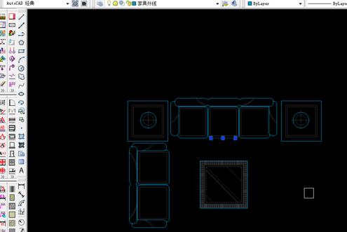 CAD中快速的将图形转成块-CAD安装教护墙板cad免费下载图片