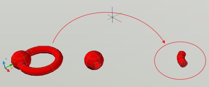 CAD三维教程:3D软件的并集、实体和差集-Ccad交集打印看怎么图图片