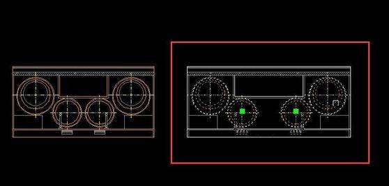 CAD中修改、分解、v动态动态块cad图例房子图片