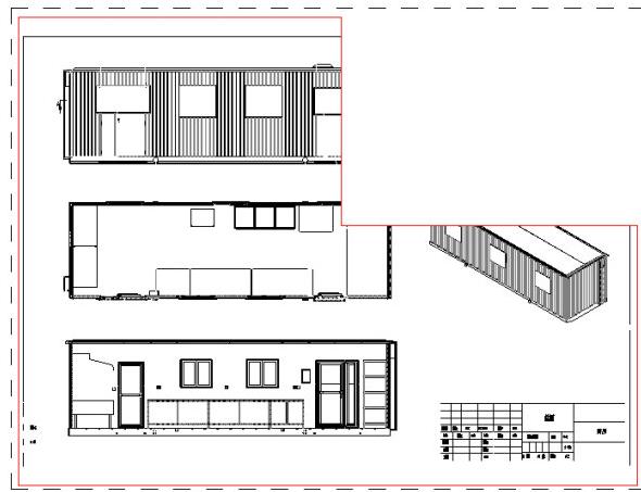 当CAD命令中视口重叠时约束后面的布局cad图形中的遮挡图片