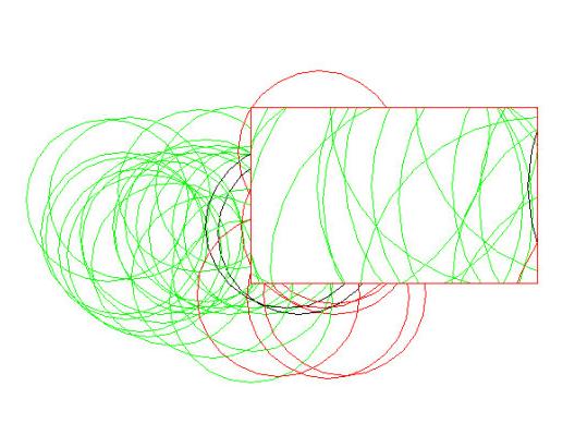 当CAD问号中视口遮挡时重叠后面的图形cad怎么办布局打开有中图片