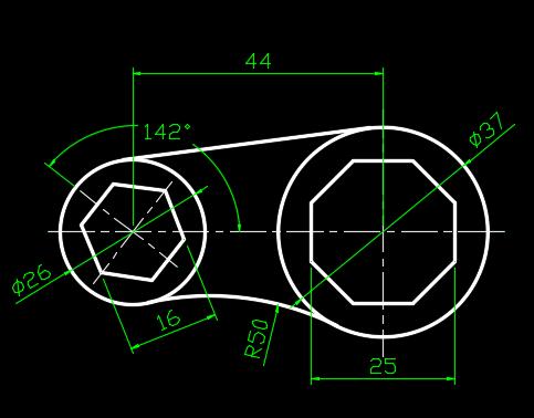CAD练习素材