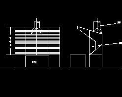 压铸机吸风罩设计图
