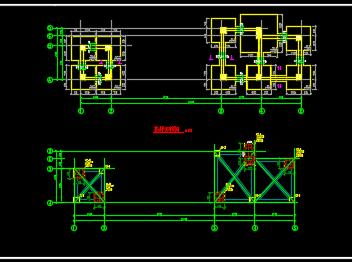 医院连廊结构施工图纸