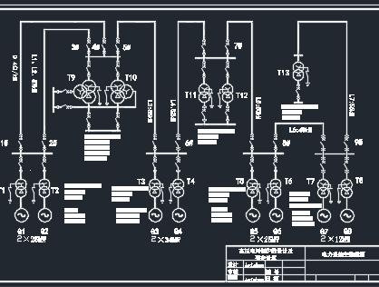 电网保护的设计及整定计算