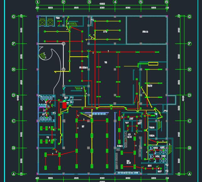七层科研楼照明及综合布线系统毕业设计(含图纸)