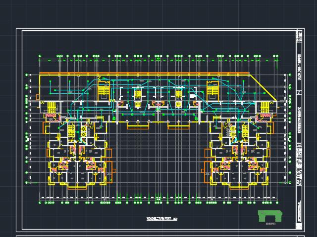 六层办公楼电气照明毕业设计(含图纸)