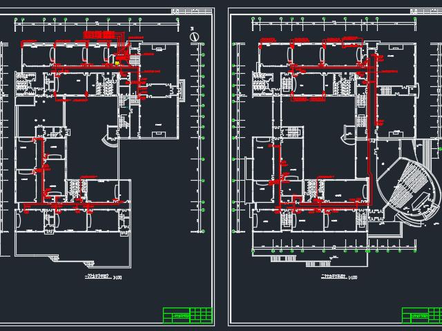 四层教学楼电气毕业设计(含图纸)