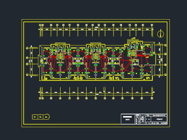 六层住宅楼电气毕业设计(含图纸)