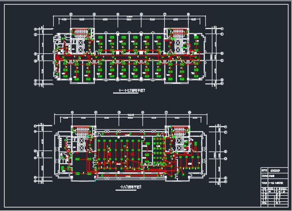 大厦电气消防报警系统毕业设计(含图纸)