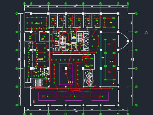 办公楼消防报警及照明系统电气毕业设计(含图纸)