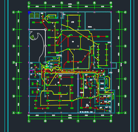 科研楼照明及电视监控系统电气毕业设计(含图纸)