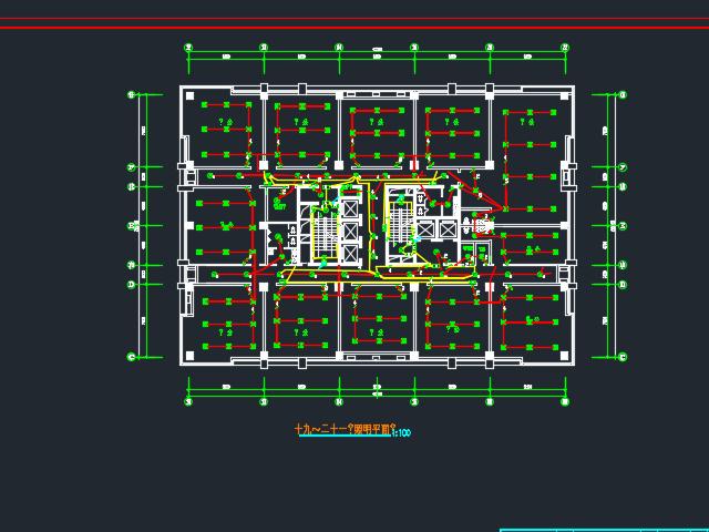 办公楼电视监控及消防报警系统毕业设计(含图纸)