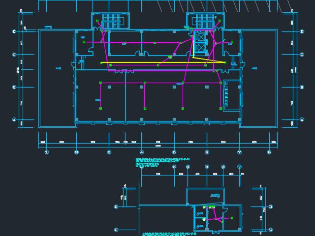 18802平米框架结构宾馆电气毕业设计(含图纸)