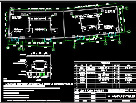 某住宅区10/0.4kV配变工程电力施工图纸