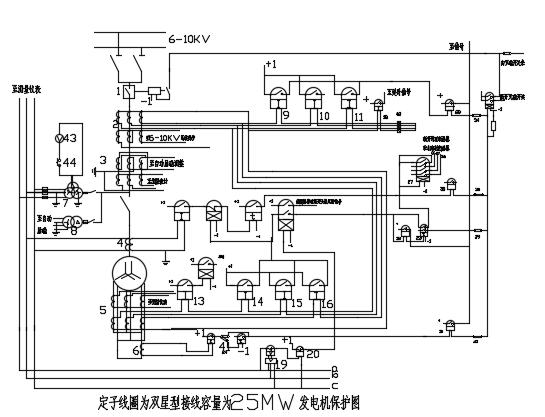 某小城市热电厂电气部分毕业设计