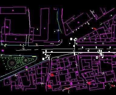 城市燃气管道施工图