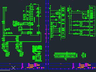 变频控制柜电气原理接线图