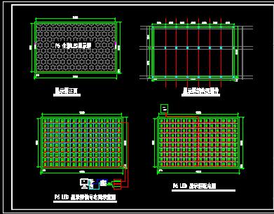 LED显示屏安装及配电设计图