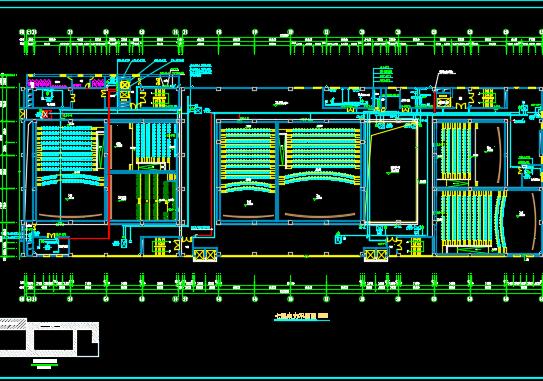 七层商场电气施工图纸