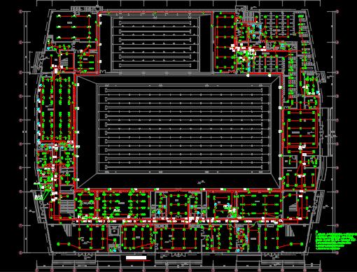 某体育中心强电施工图