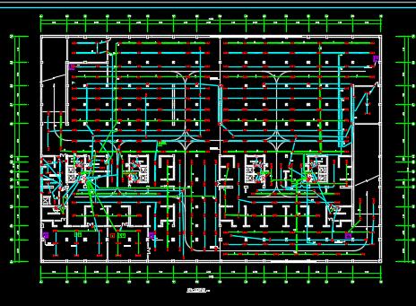 28层公寓楼电气施工图纸