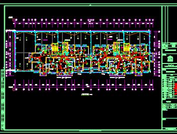 十七层住宅楼电气施工图纸
