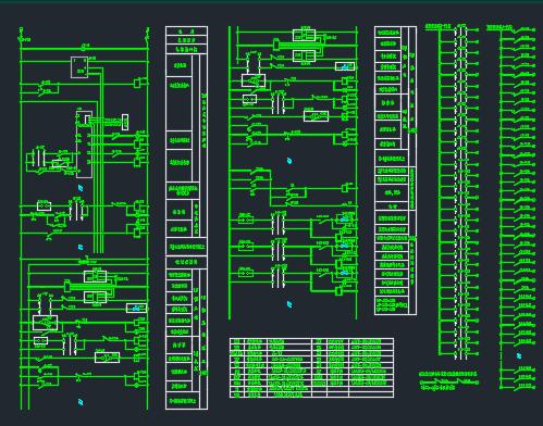 冷库电气系统图纸