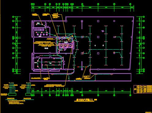 十五层商住楼电气设计图纸