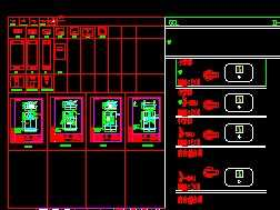 图纸标准电气CADv图纸关机图块免费下载-电气电脑常用断电必备图片