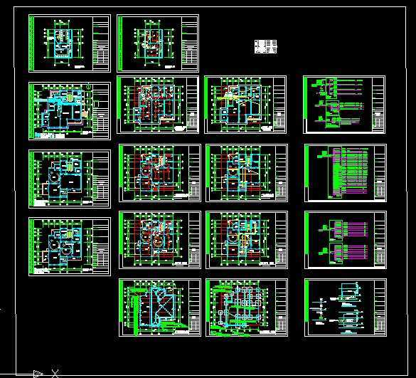 幼儿园电气设计图