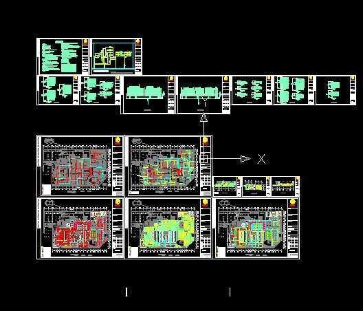 超市电气设计施工图免费下载 - 电气图纸 - 土木工程网