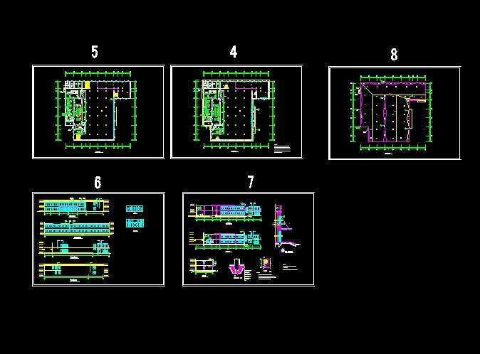 学校厨房平面图