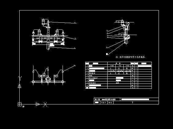 10kv架空线路设计图纸