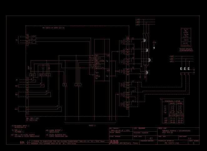 abb综保接线图