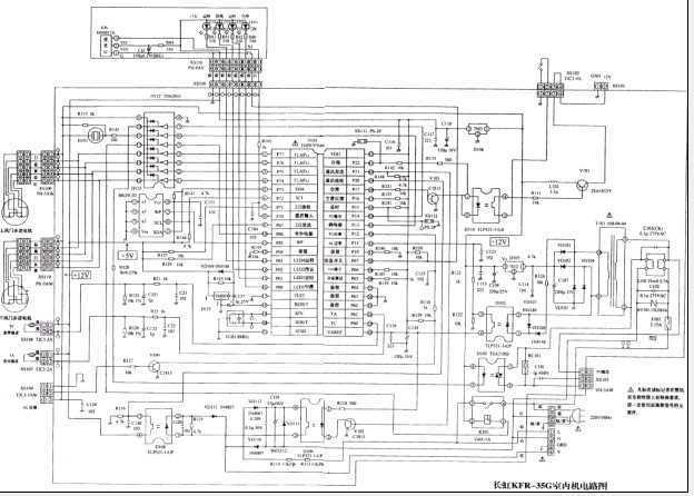 新型家用变频空调微电脑电路图免费下载 - 电气图纸