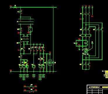 电动机星三角起动控制装置电路图