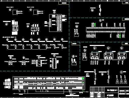 变电所10kv进线,计量柜,变压器柜原理图
