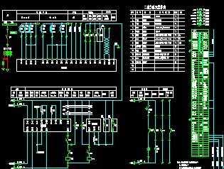 二次文艺设计图免费下载-图纸电气电路a文艺风设计图图片