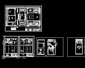 某800kva箱变柜体设计图